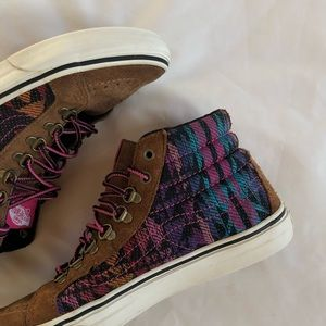 Shoes - Aztec style vans